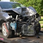 front end collision motor vehicle car accident