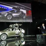 Tesla Model X unveiling