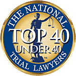 Top 40 under 40 National Trial Lawyers