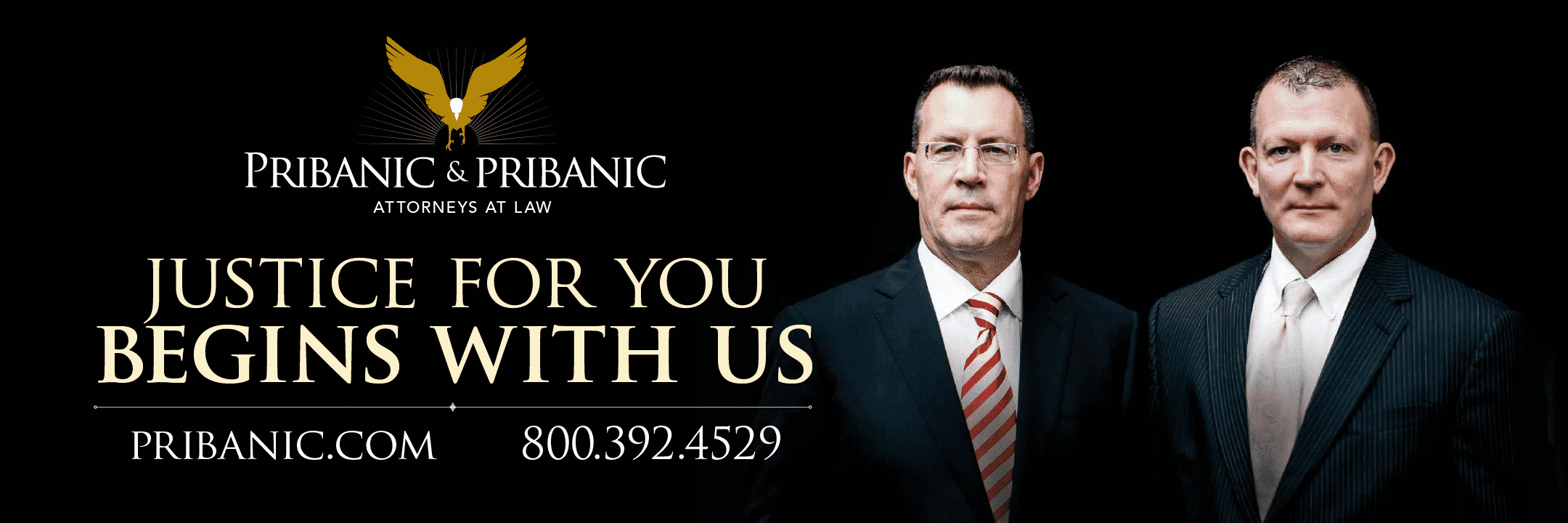 "Injury Lawyer - Pribanic & Pribanic ""Justice For The People"""